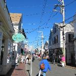 sunny day on commercial street!