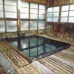 Le bain avec ses bassins