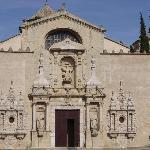 Monastère de Poblet, la facade