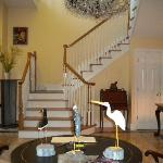 Exquisitely appointed foyer
