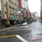 The minute you step out of QStay, the Ximending area will face you in the short distance ahead.