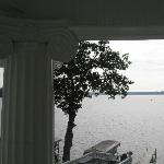 View of lake from 2nd story porch