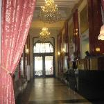 Nice corridor of Hotel Praga 1885