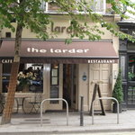 The Larder as seen from across the street.