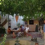 Tuncay courtyard