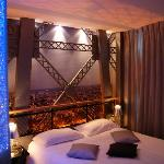 Our Eiffel Tower room