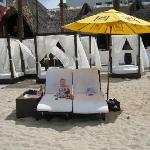Great cabanas for rent down at the beach