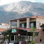 Mount Kerkis rises above The Ballad