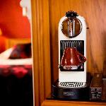 Real in-room coffee