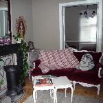 Salon dans notre chambre
