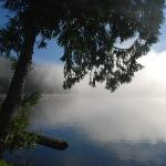 Mineral Lake in the morning mist