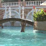 Vista da piscina principal