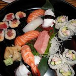 Assorted Sushi & Rolls - Nobu restaurant