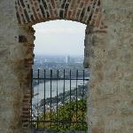 Blick vom Drachenfels Richtung Köln