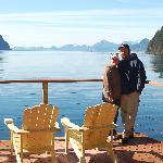 Ty & Dawn @ Orca Island Cabins