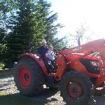 The Wee Red Tractor