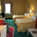 Suites with 2 queen size beds
