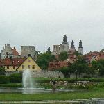 Vista espectacular de Visby