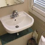 Salle de bain bien vieillotte