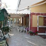Hôtel Villa Chiara entrée