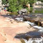 Oak Creek at the Slide Rock State Park