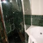 Marble bathroom - shower and spa