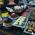 Buffet des gâteaux  européens suite