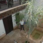 Innenhof mit Abdel