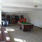 Rozel Campsite, games room