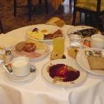 un pequeño desayuno.....