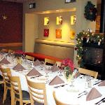 Private dining room seats up to 30