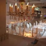 Restaurantbereich - sehr stylisch aber auch sehr gemütlich