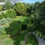 The garden at the Headlands