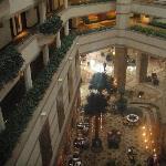 Blick auf Lobbybereich