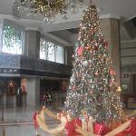 Weihnachtsstimmung in der Lobby
