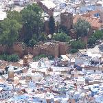 Chefchaouen, the view from the mountain
