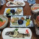 Keiseki dinner at Fujioto