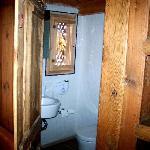 Bathroom in closet