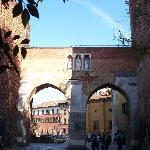 pusterla di Sant'Ambrogio dall'esterno