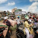 Cai Be Mekong river crossing