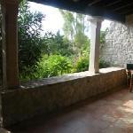 La terrasse de notre suite