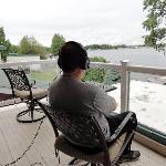 Listening to floatplane pilots talking to tower at Lake Hood Inn