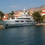 1 of the many Yachts in Cavtat Harbour daily
