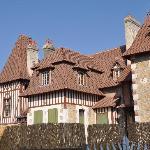 ein typisches altes Haus