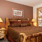 Uniquely decorated rooms with a Western flair