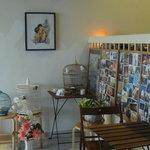 a corner in cafe
