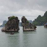 Fighting Corks _ Landmark of Ha Long Bay