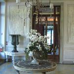 Main villa at reception