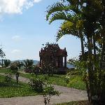 Hotelpark: Tempel am Meer