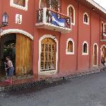 Alhambra front porch
